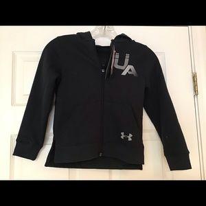 Boy's Under Armour Hoodie Jacket NWT XS